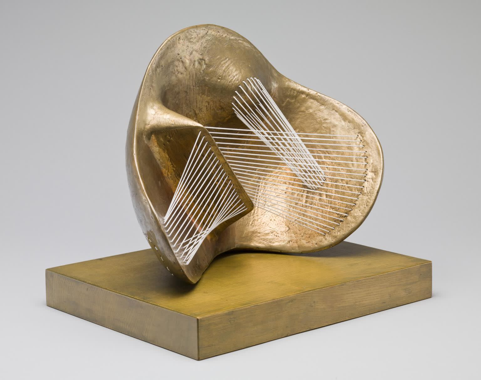 Henry Moore OM, CH, Stringed Figure 1938, cast 1960 © The Henry Moore Foundation. All Rights Reserved