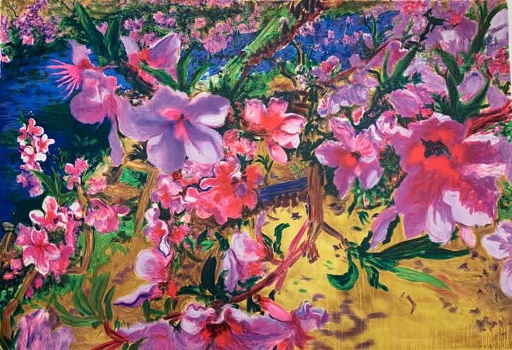 zhou-chunya-peach-blossom-no1