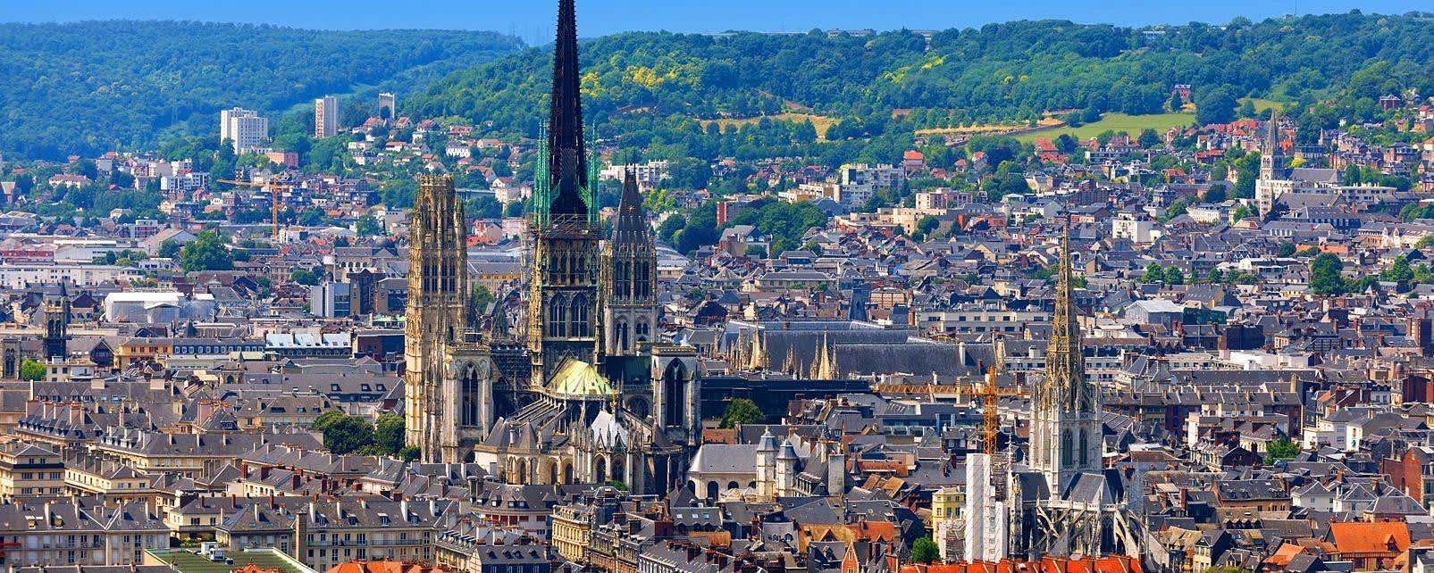 Rouen France where Albena lives now