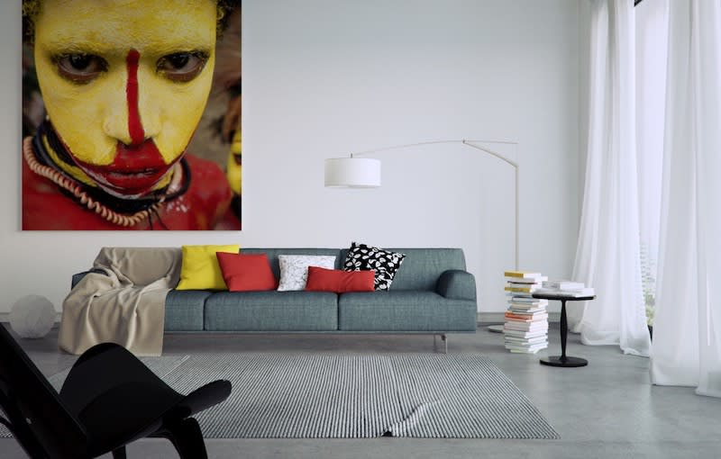 How to Afford Art, Interior Design