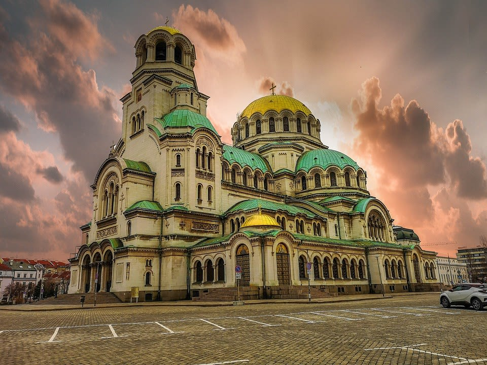 Church in Sofia, Bulgaria