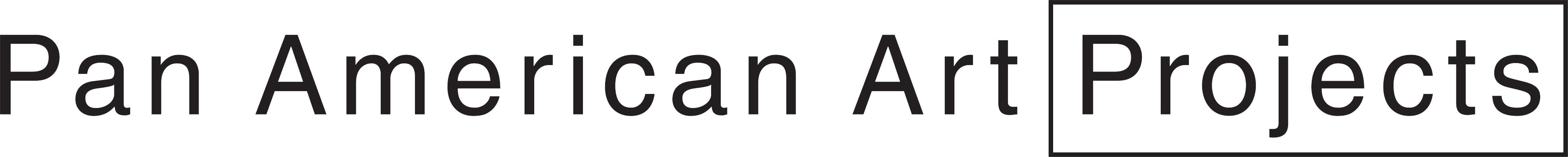 Pan American Art Projects company logo