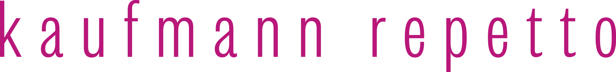 Kaufmann Repetto company logo