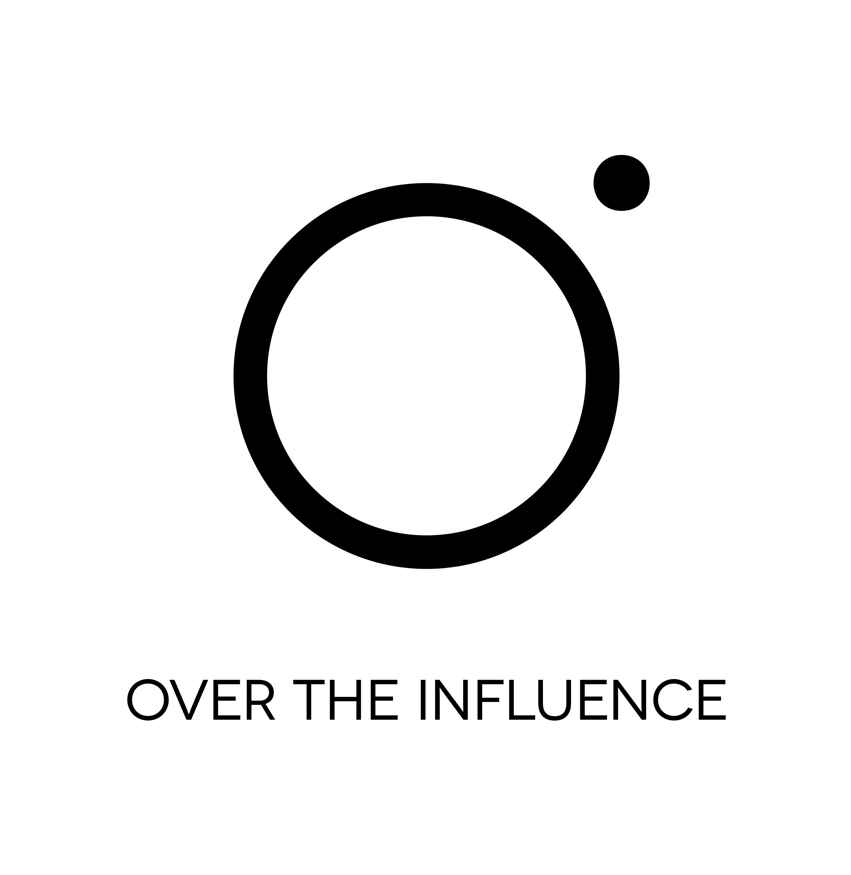 Over the Influence company logo