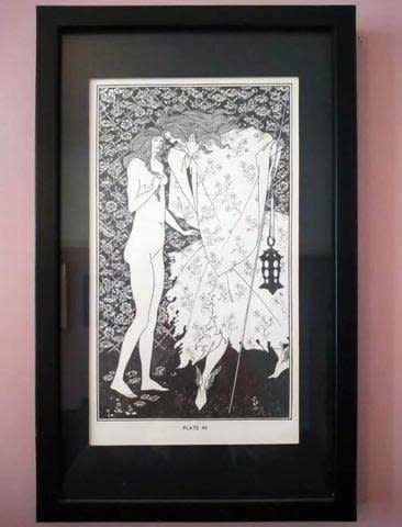 A piece from Michelle Mildenhall's collection by Aubrey Beardsley