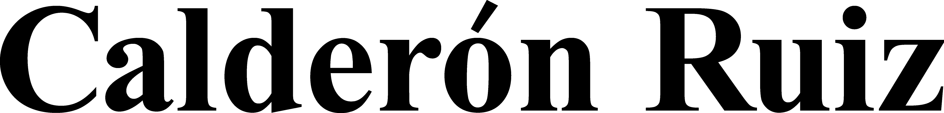 Calderón Ruiz company logo