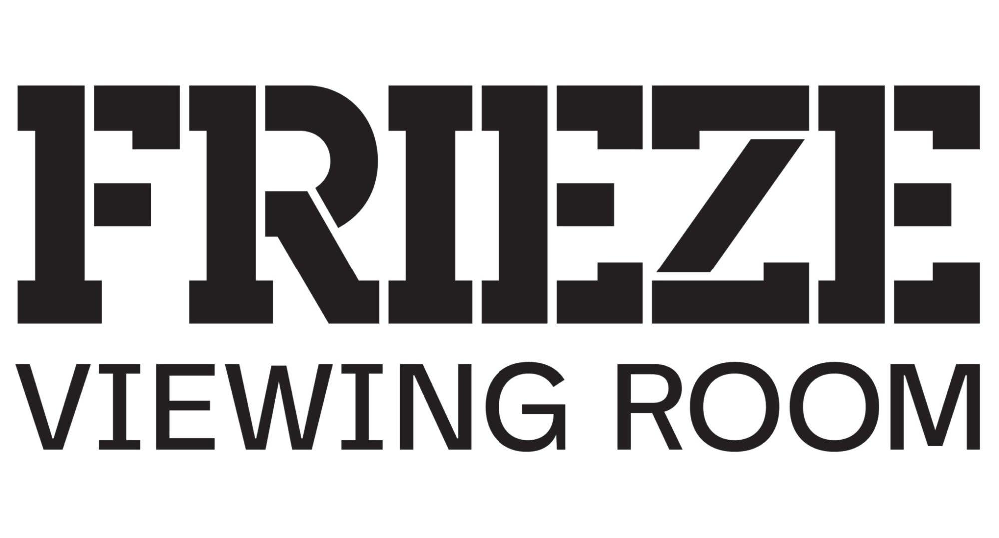 Frieze viewing room logo