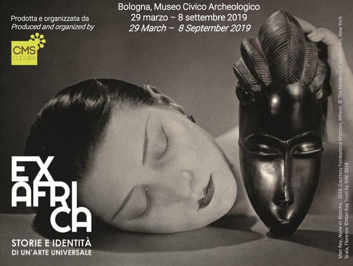 Man Ray, Noire et Blanche, 1926, Fotografia new print del 1980Collezione privata, Courtesy Fondazione Marconi, Milano© The Museum of Modern Art, New York Scala, Florence©Man Ray Trust by SIAE 2018