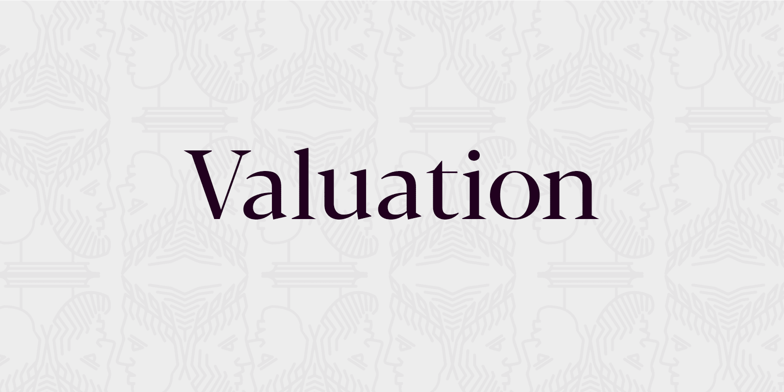Tab for valuation section of website