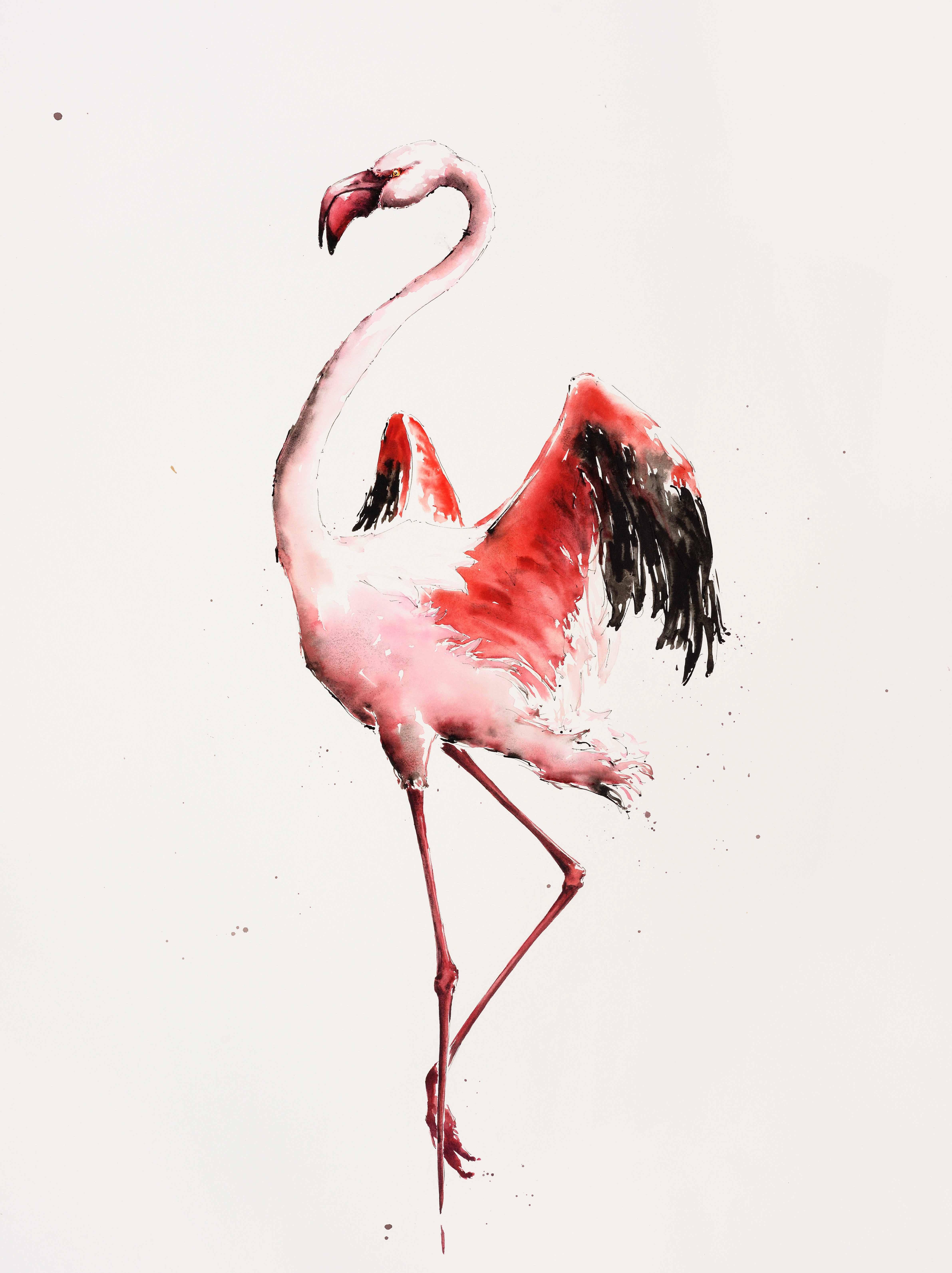 Flamingo Dusk - £2750