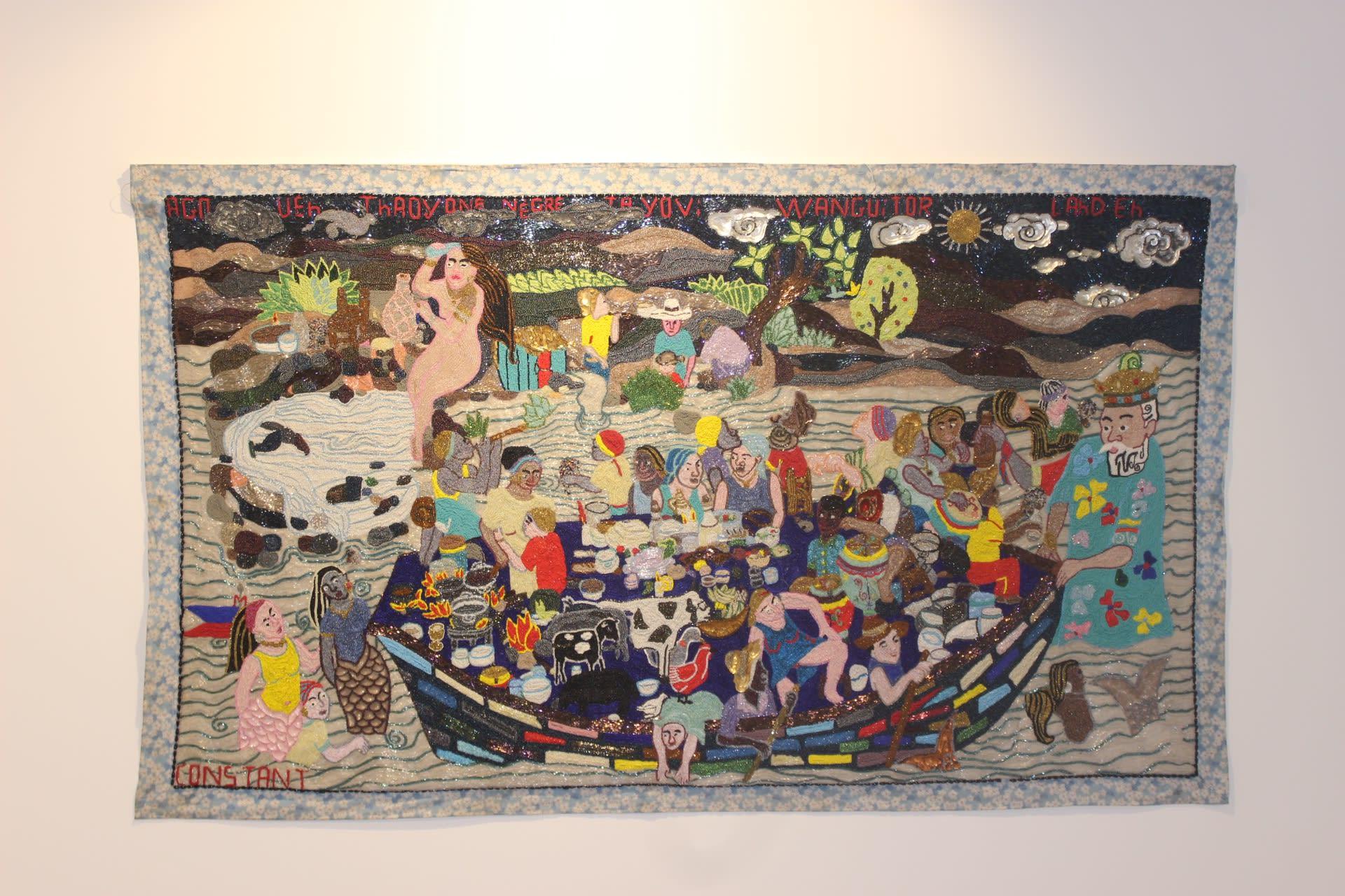 Myrlande Constant, Agwe, c.2005. Collection Bourbon-Lally, Beziers/Port-au-Prince.
