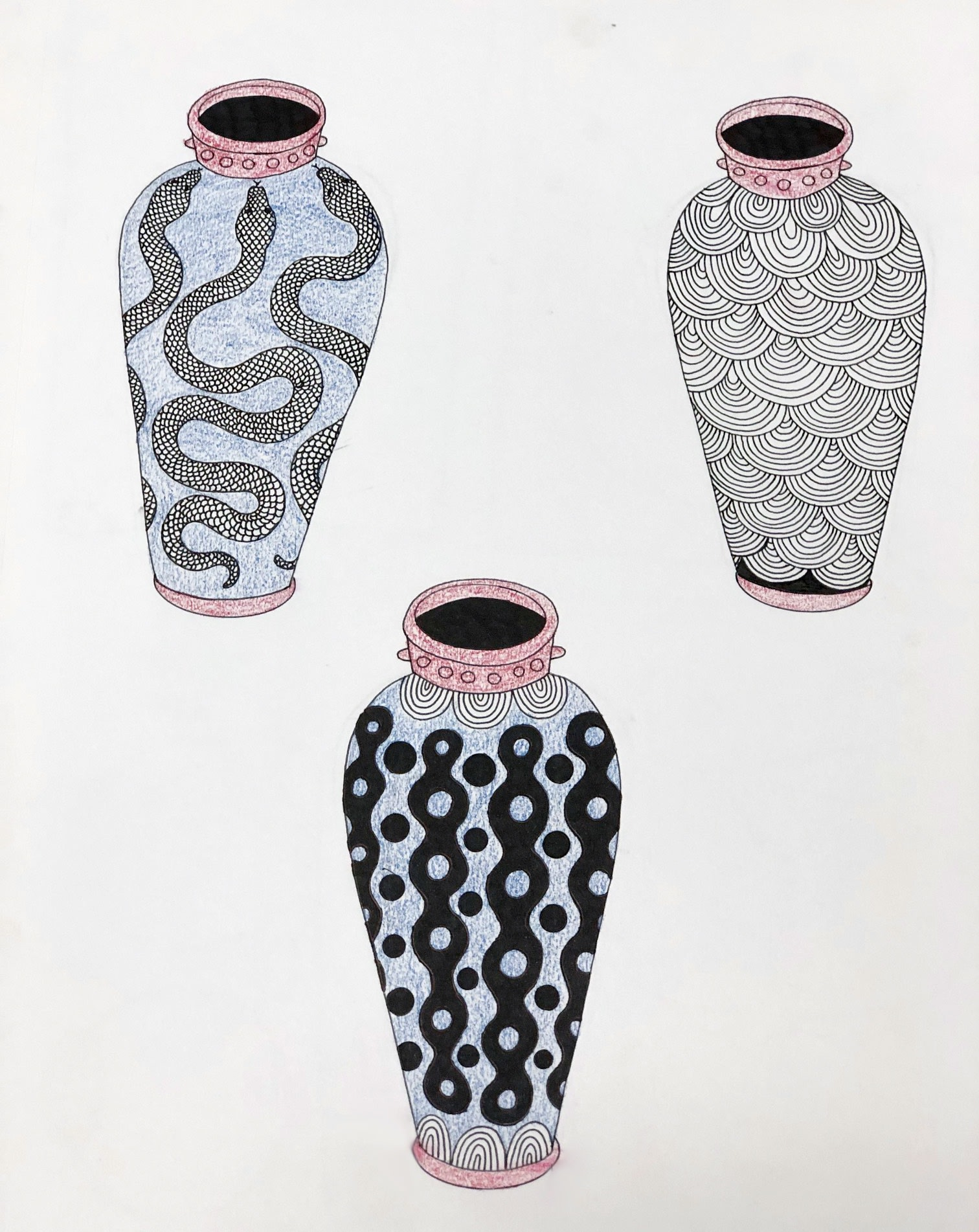 Sketchbook Illustration by Ceramicist Gabriela Gabo Martini