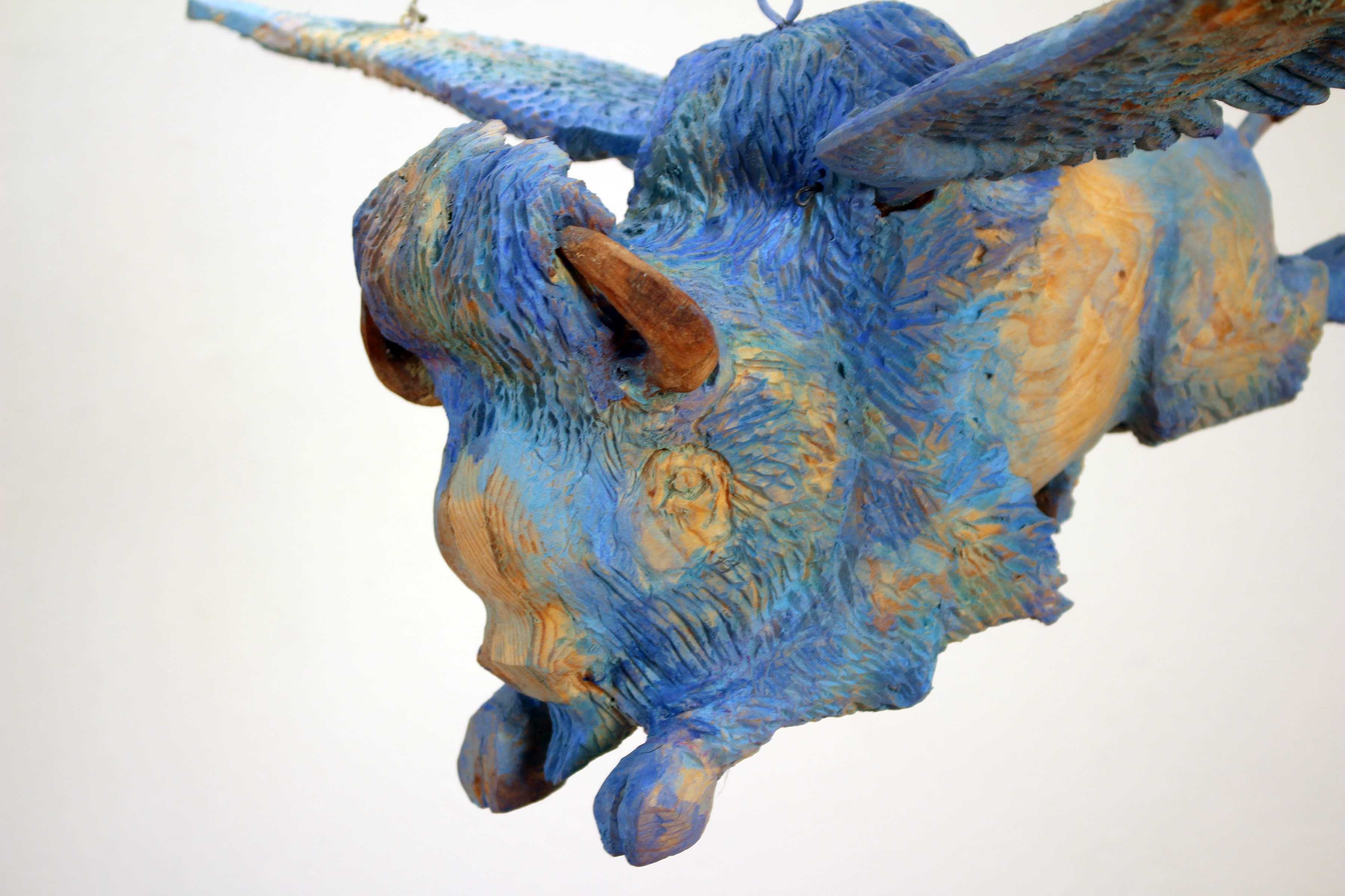 Flying Blue Buffalo