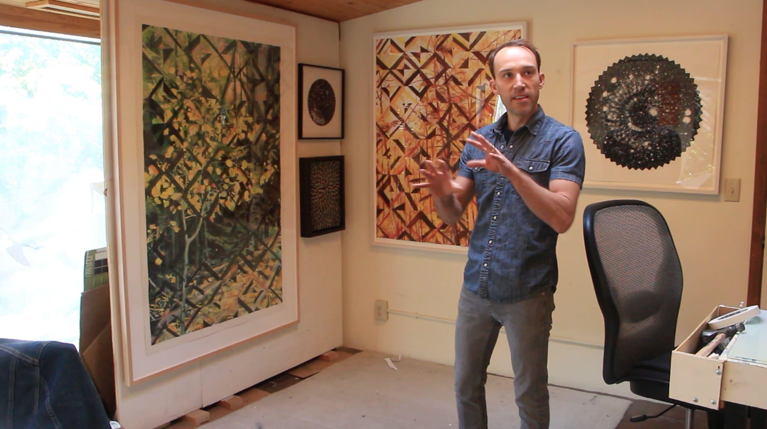Matthew Mullins studio visit