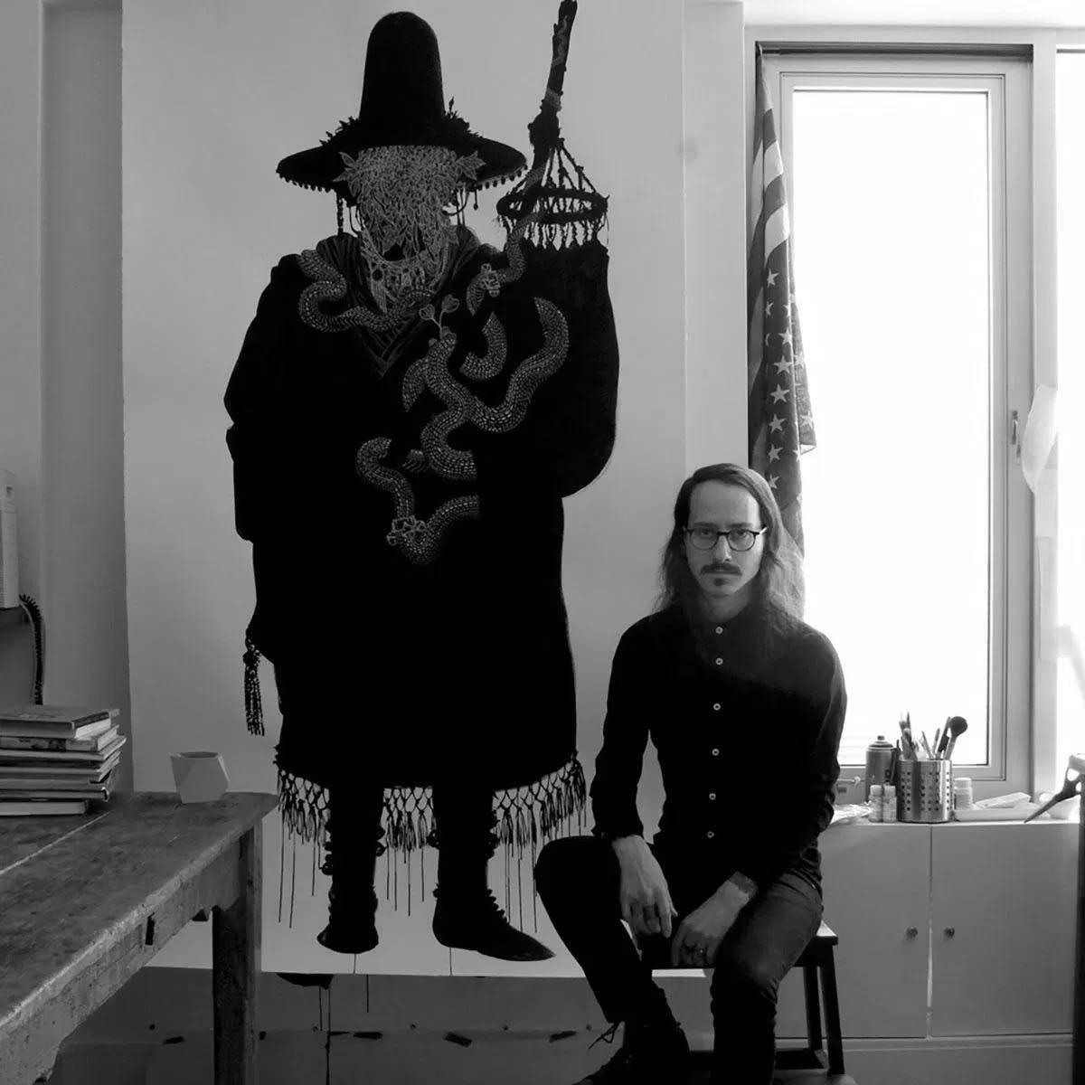 Artist Zac Scheinbaum