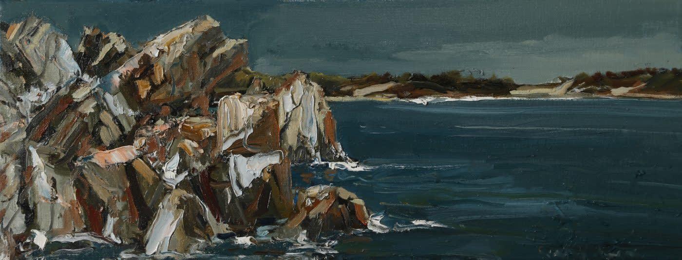Gerard Byrne 'Adriatic Rocks III' Rab Island, Croatia
