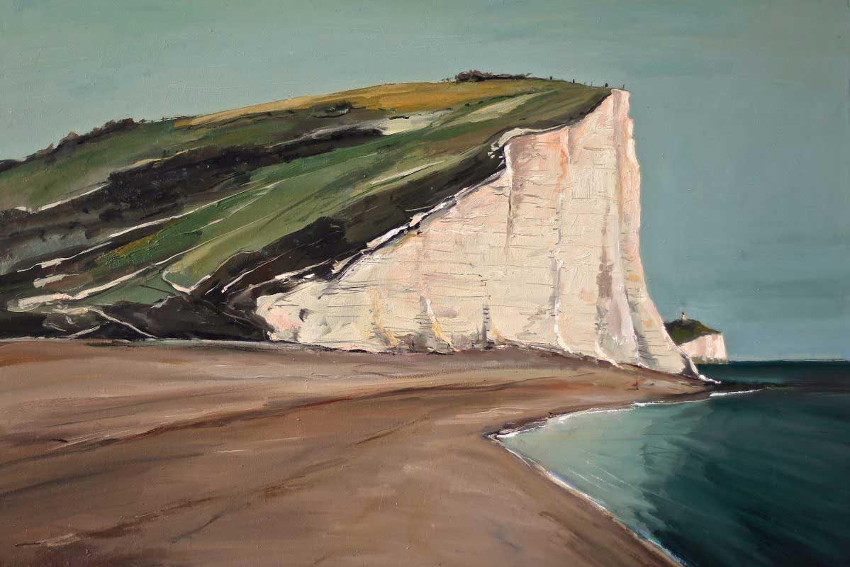Gerard Byrne 'Cliff Walk' Seven Sisters, UK
