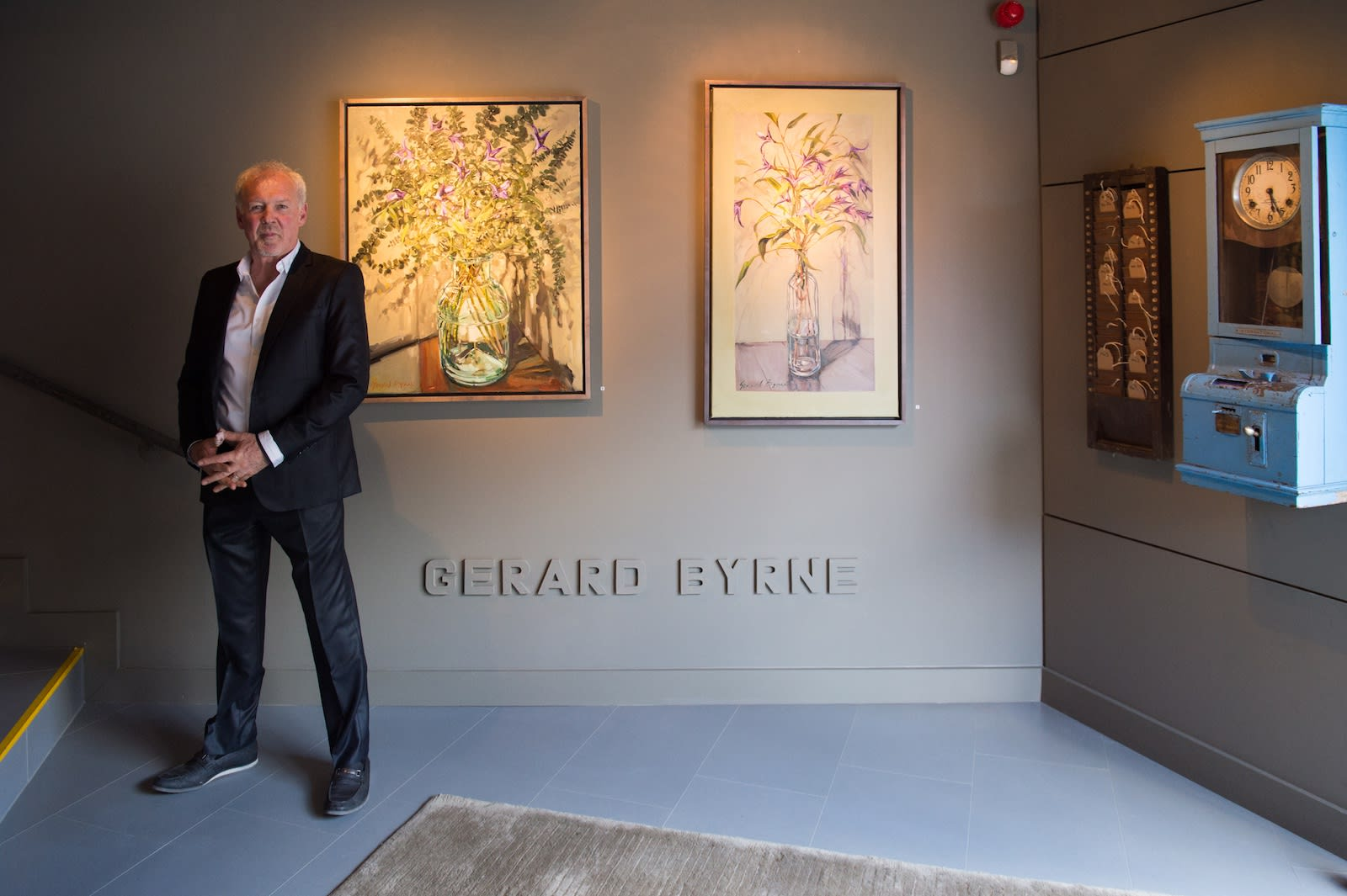 Gerard Byrne opens 'Time is The Enemy' - the first art exhibition at The Gerard Byrne Studio Ranelagh