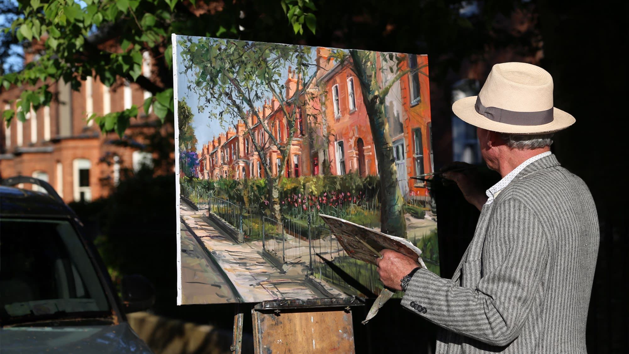 Gerard_Byrne_irish_artist_painting_on_Dublin_streets_during_lockdown_Pause_For_Harmony_Art_Exhibition