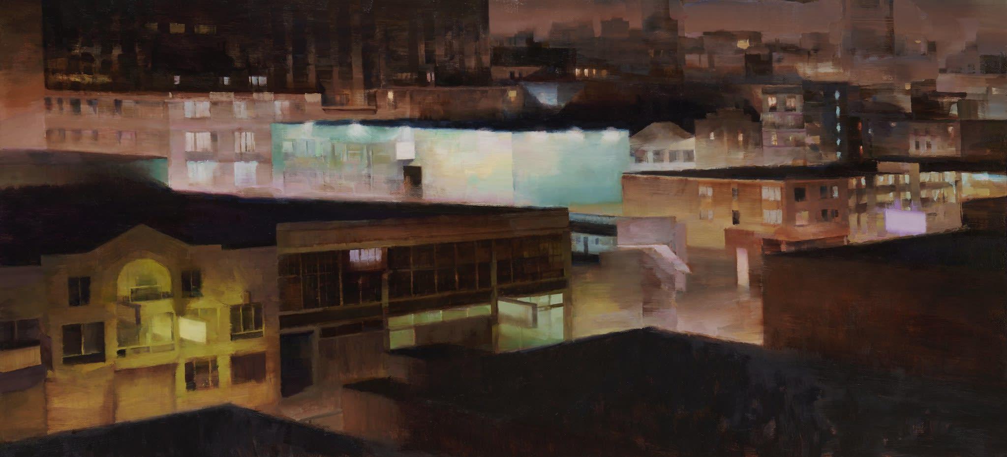 detail shot of Kim Cogan's artwork