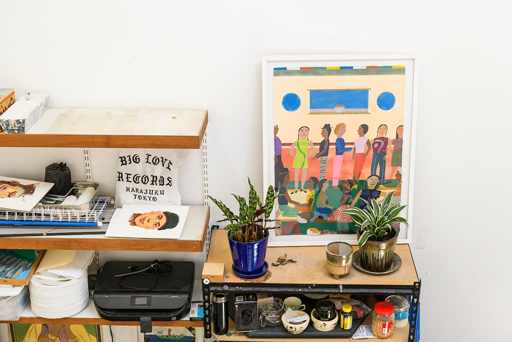 Studio visit with Chelsea Wong