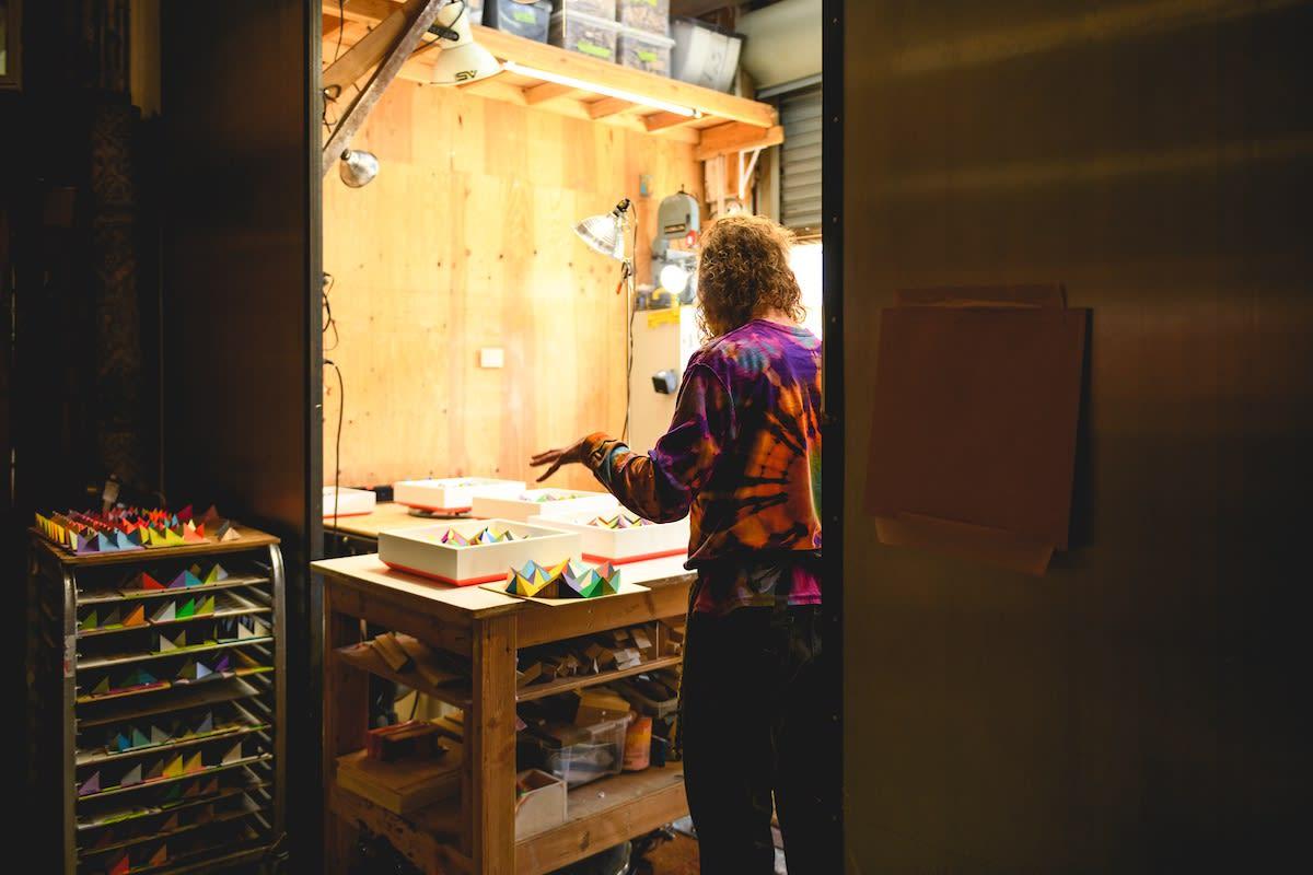 sean newport studio visit