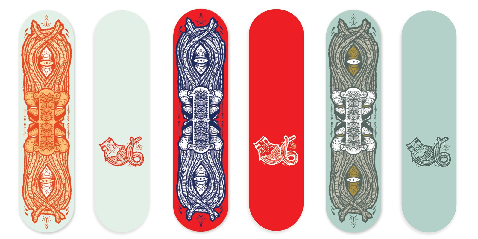 Skateboard decks by GATS
