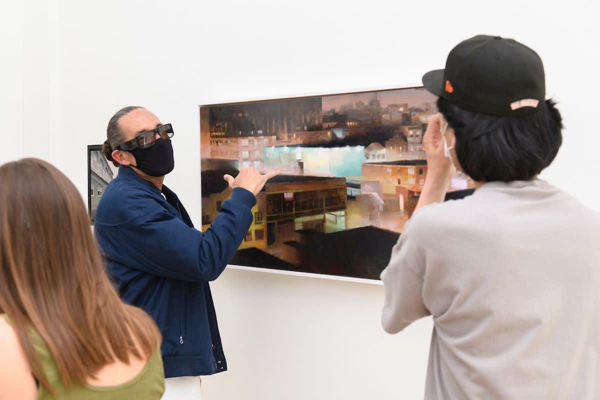 Opening reception of Kim Cogan's new exhibition