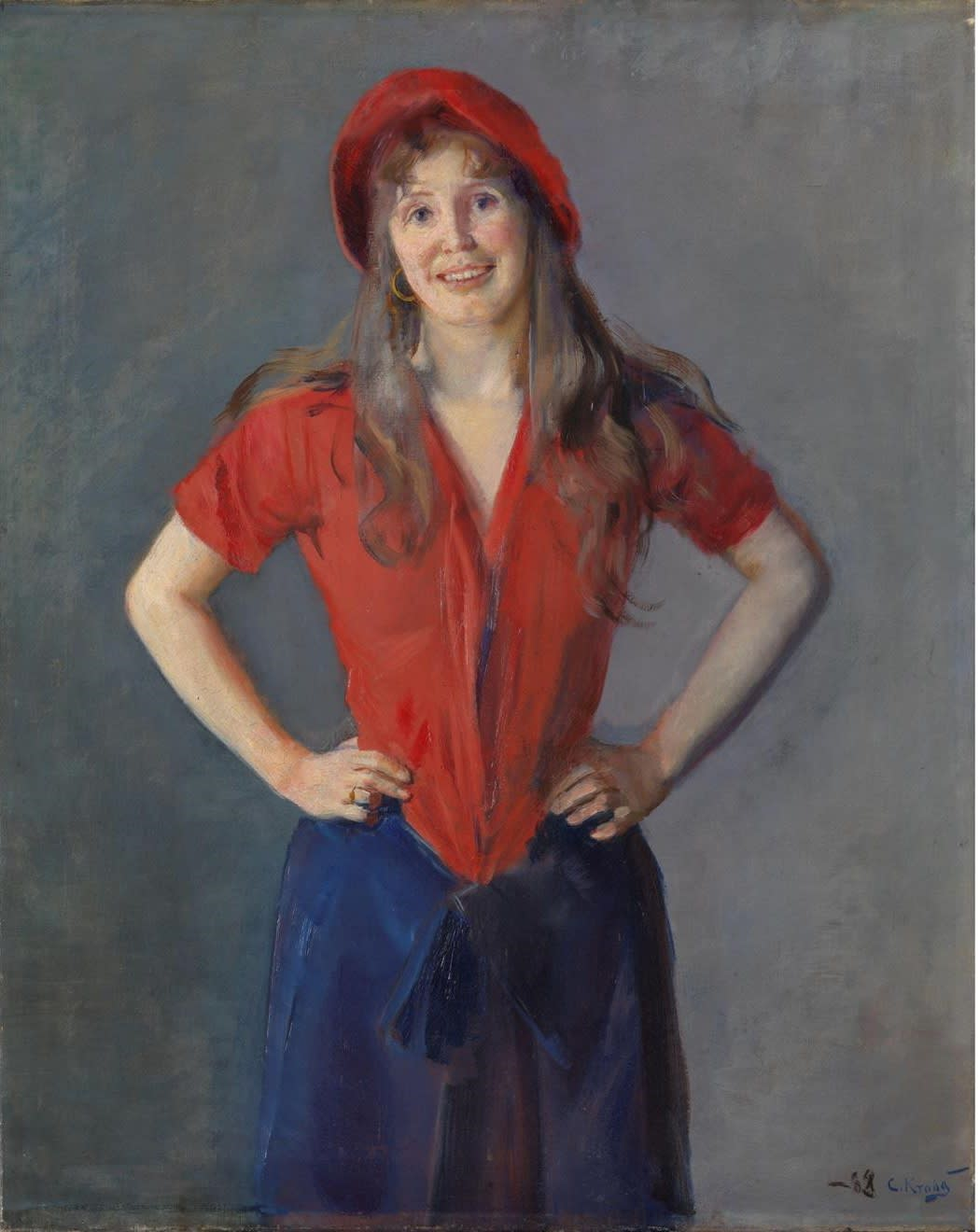 Portrait of the Painter Oda Krohg