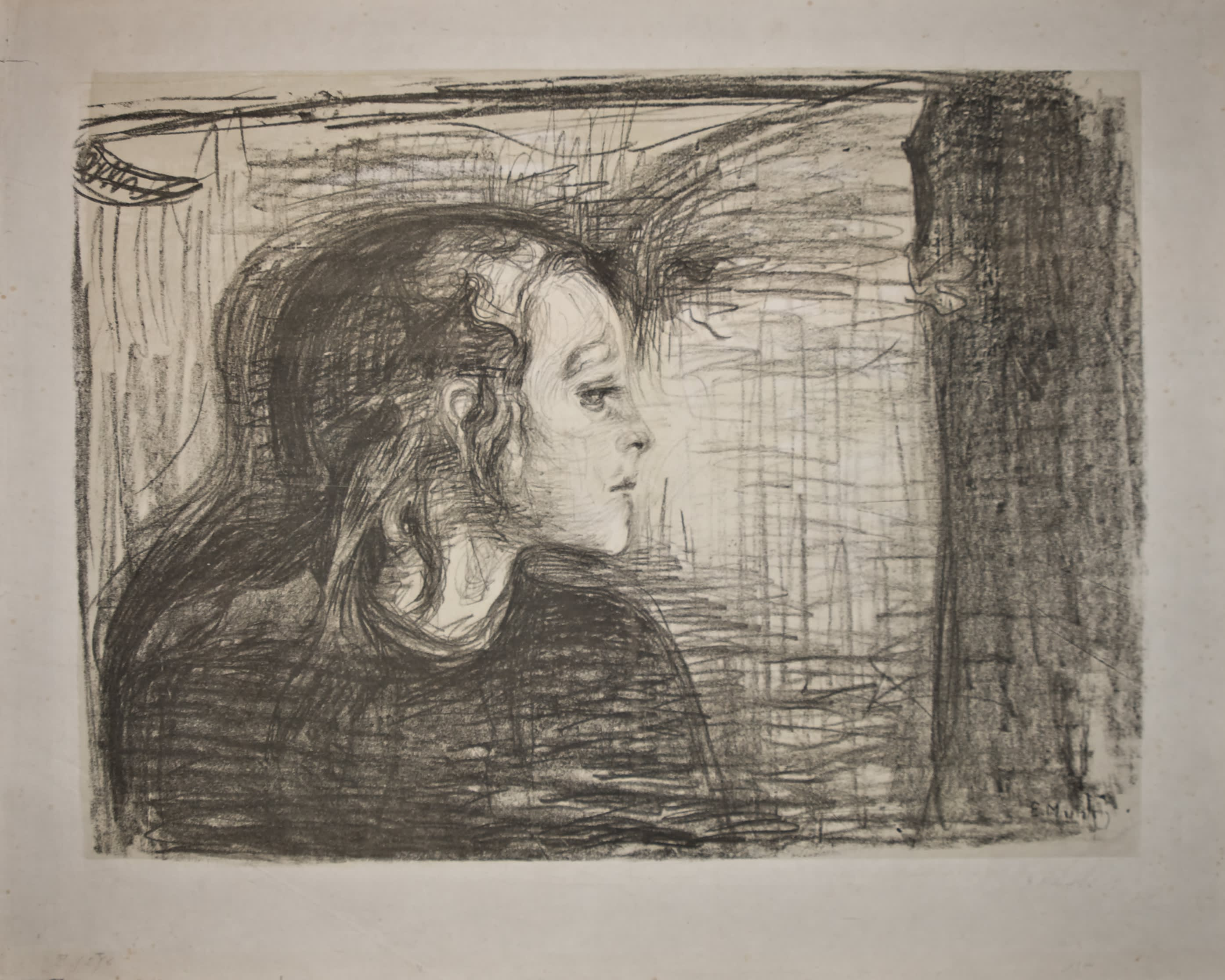 Munch's sister portrait