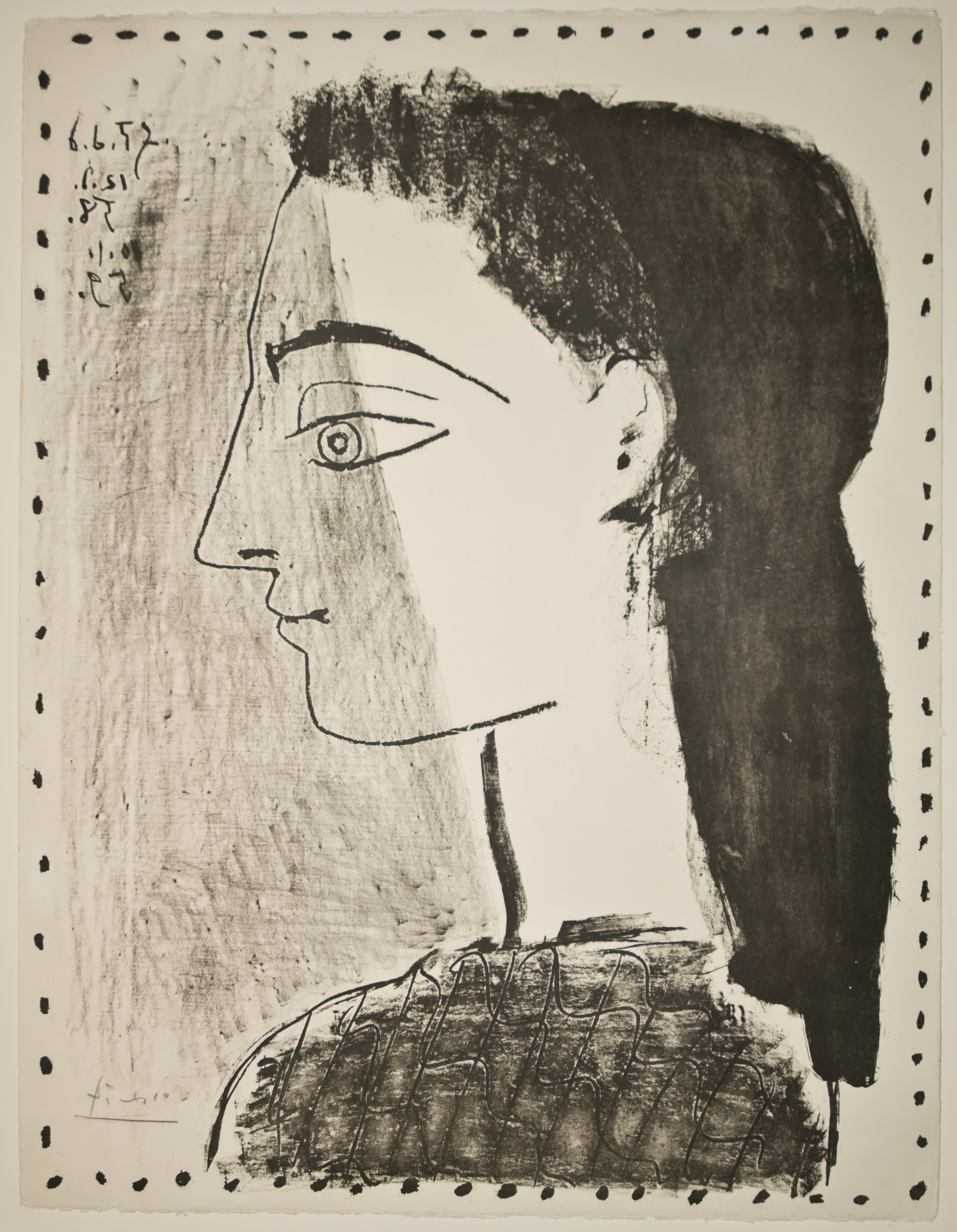 Portrait of Jacqueline Roque