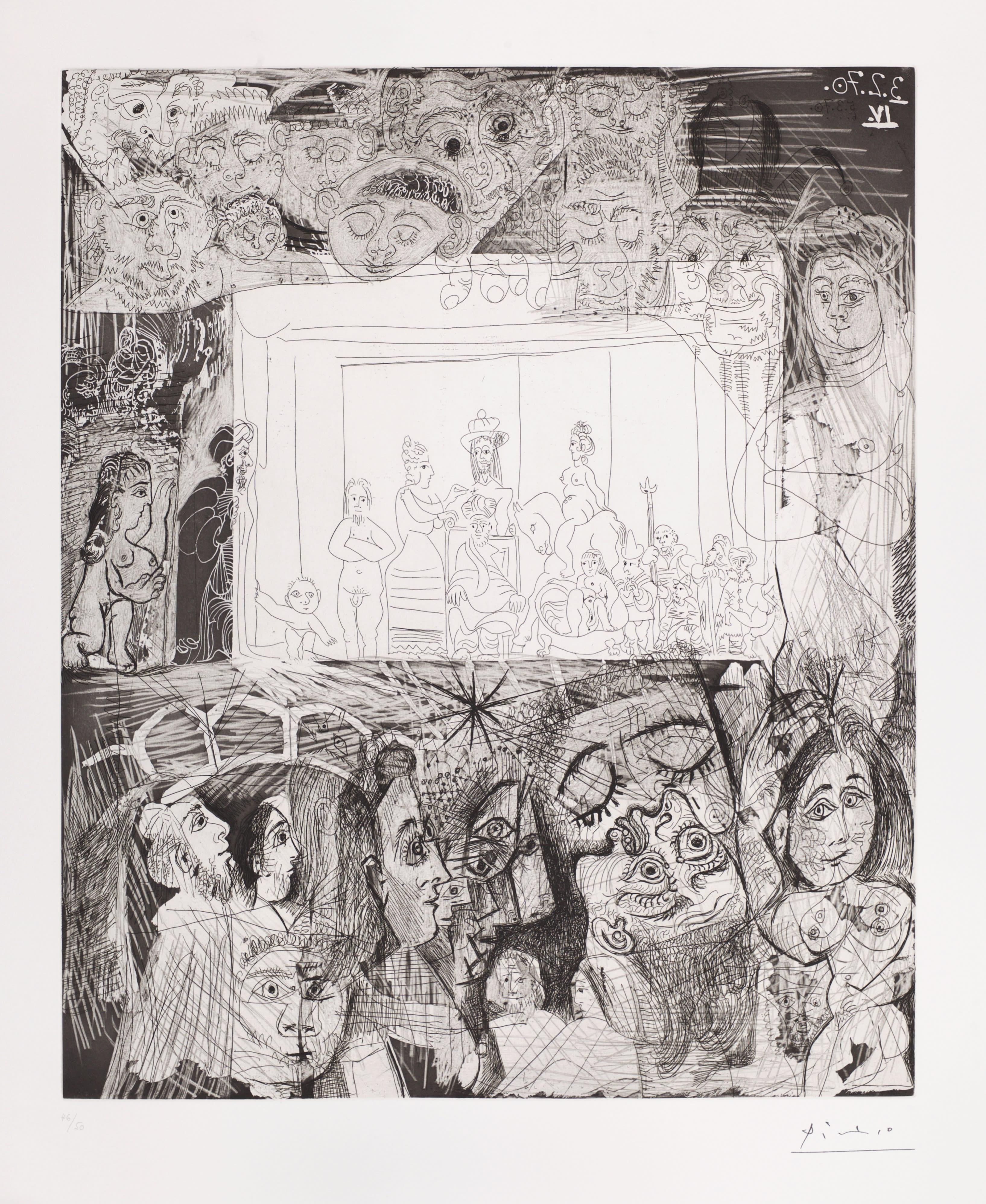 """""""Ecce Homo"""" d'Après Rembrandt"""