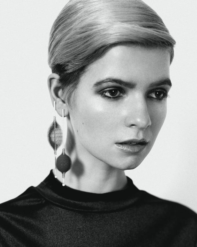 Hot Ingo Earrings, 2016, photographed by Alexander English