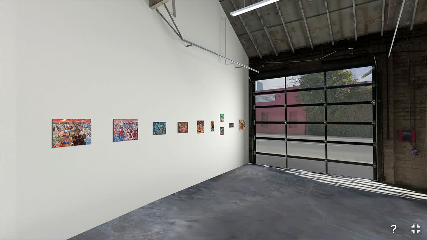 MASH Gallery Virtual Reality Space