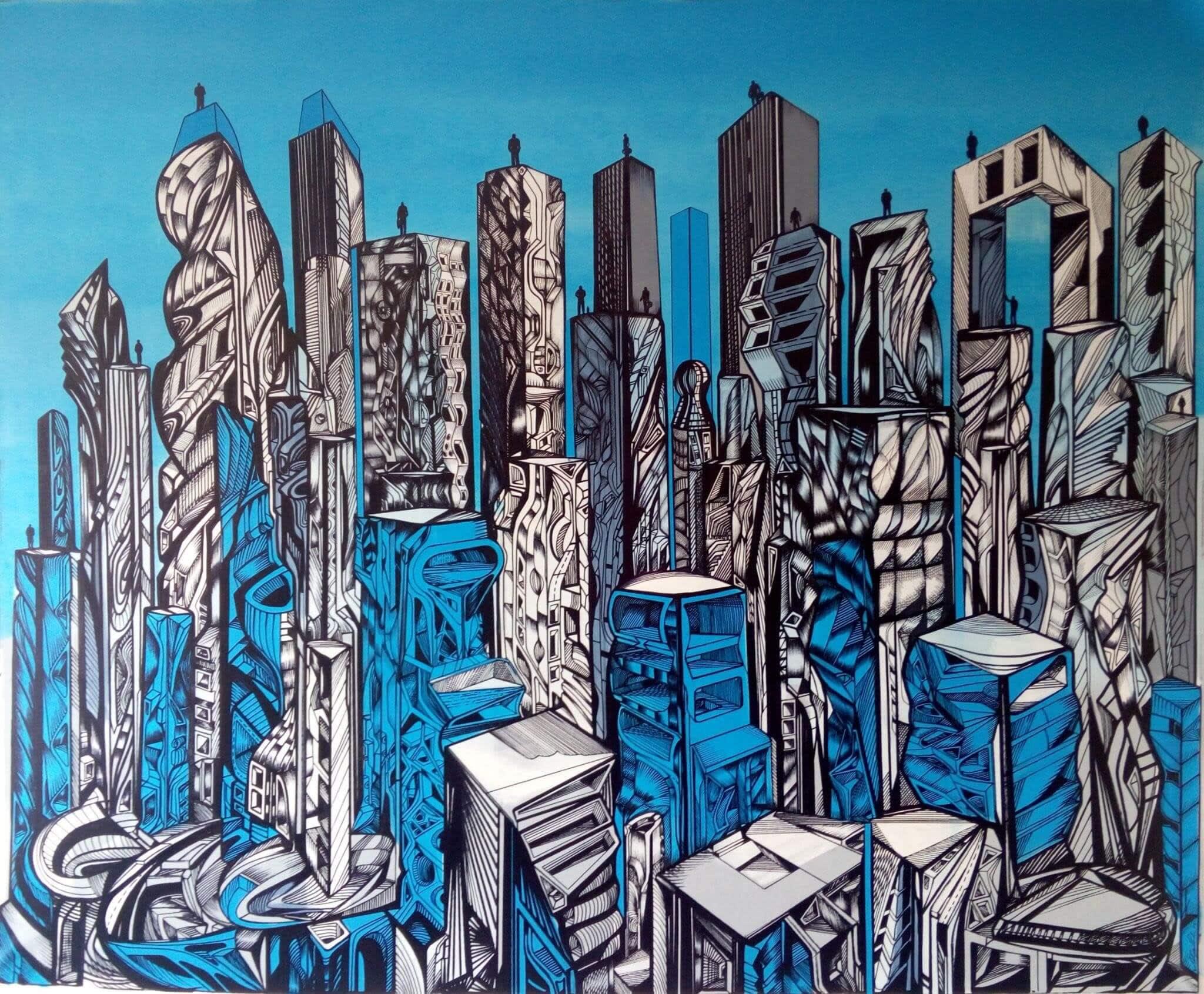 Blue City of Angels