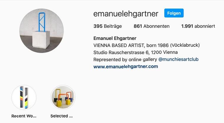 emanuel ehgartner on social media