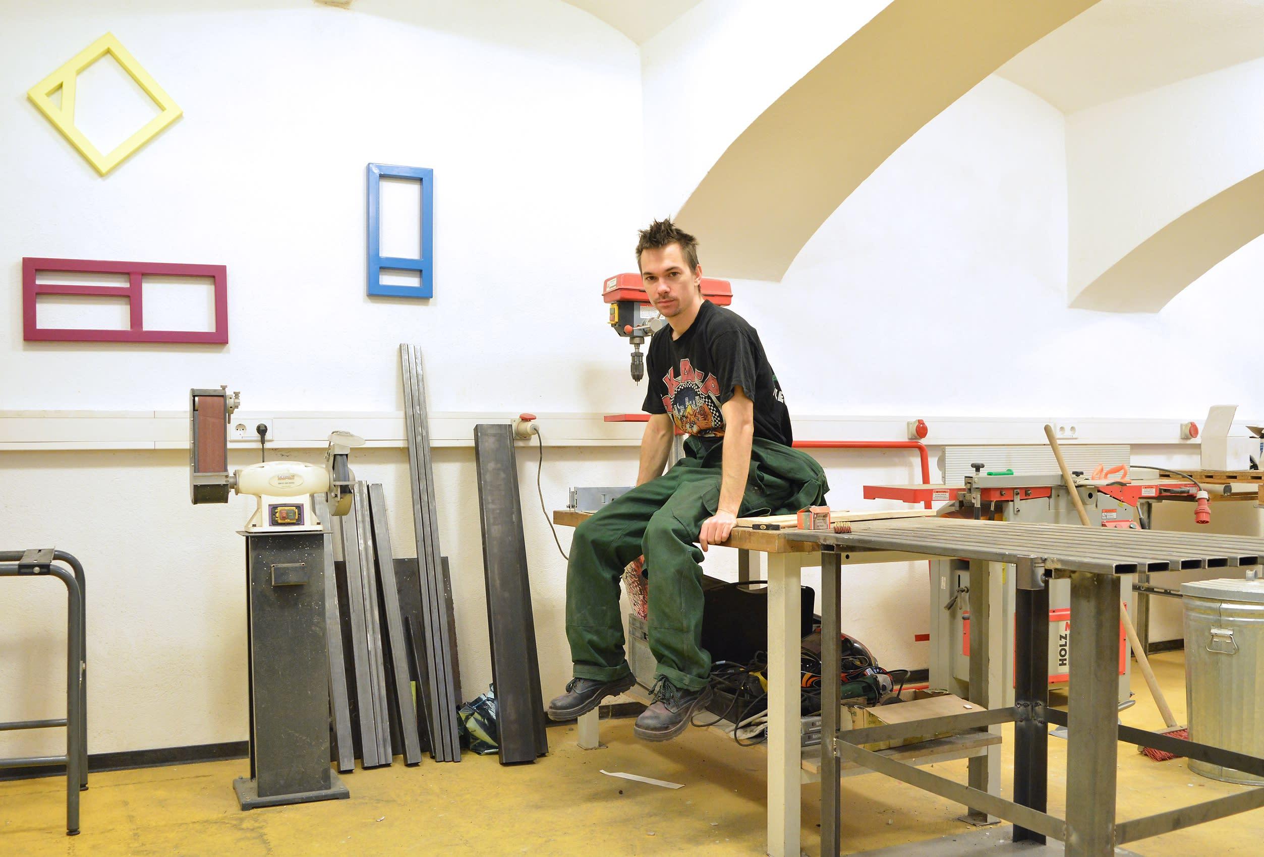 artist studio art practice ehgartner skulptor