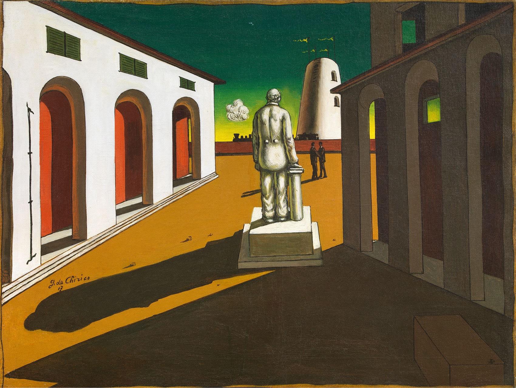 giorgio dechirico, piazza d italia, 1945, tornabuoni art, frieze masters