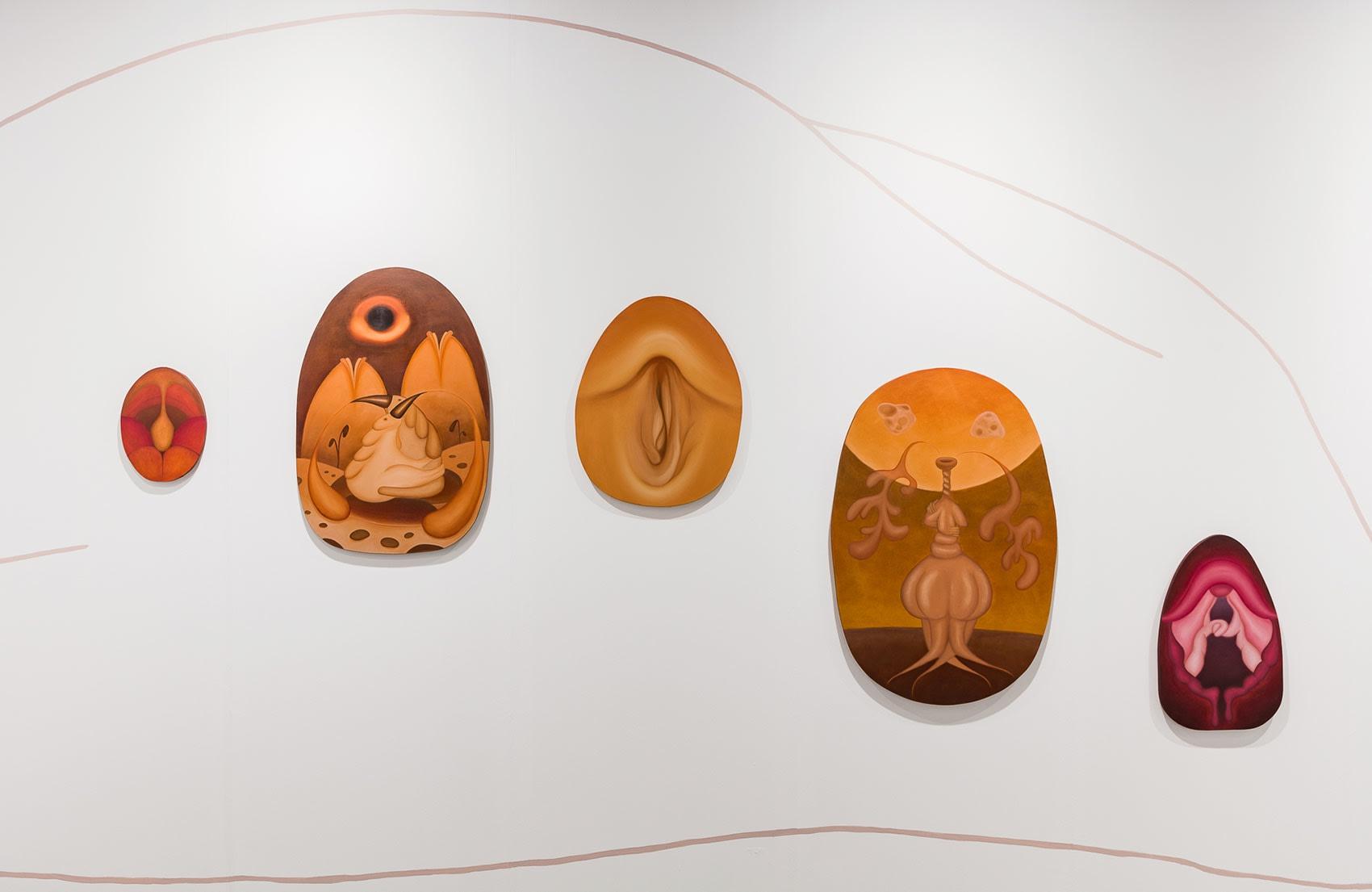 galerie sophia vonier and artist marianne vlaschits at vienna contemporary 2020