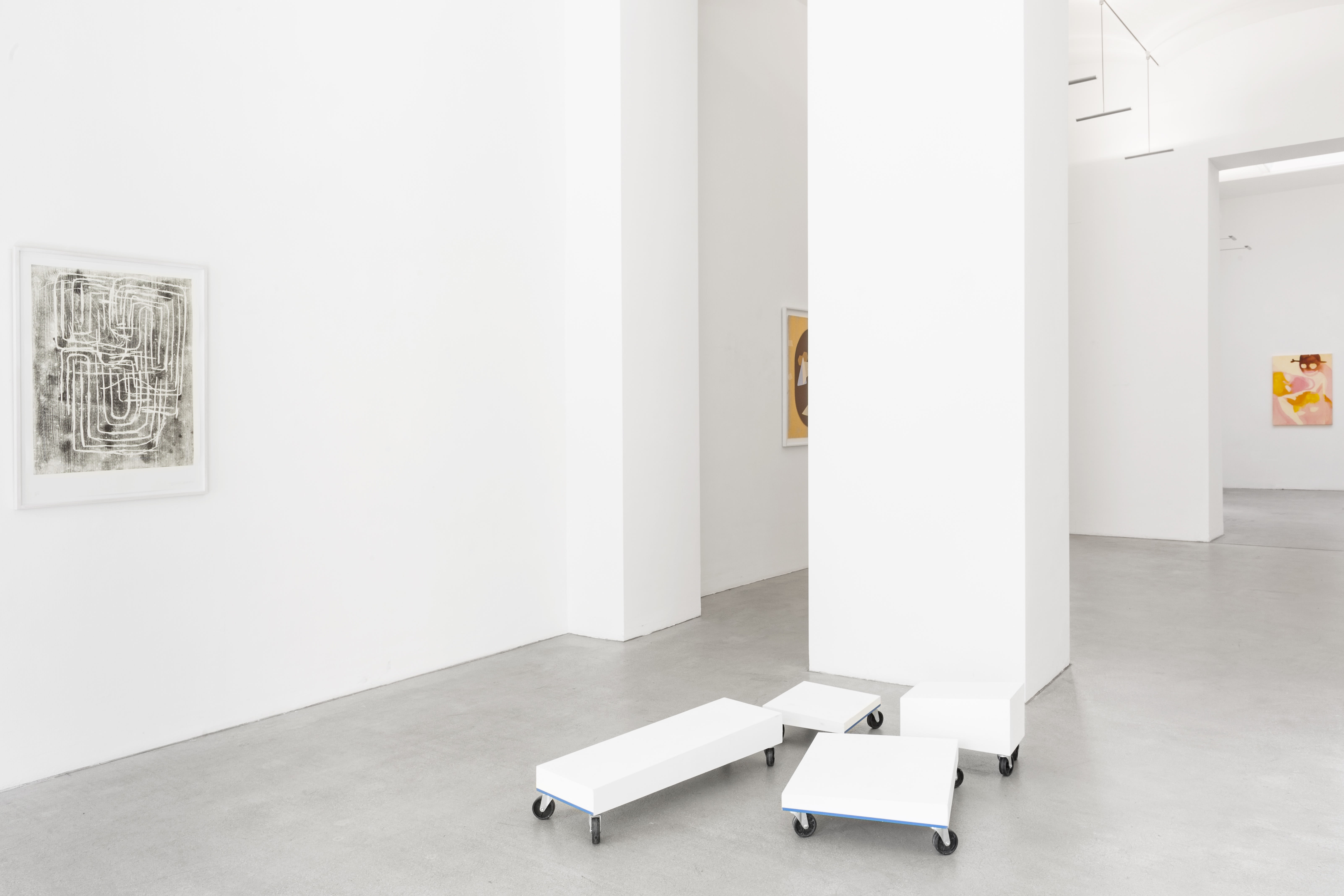 josef zekoff, max landegren, rini tandon, sarah bogner, curated by, hybrides, Unknown identities, installation view, exhbition