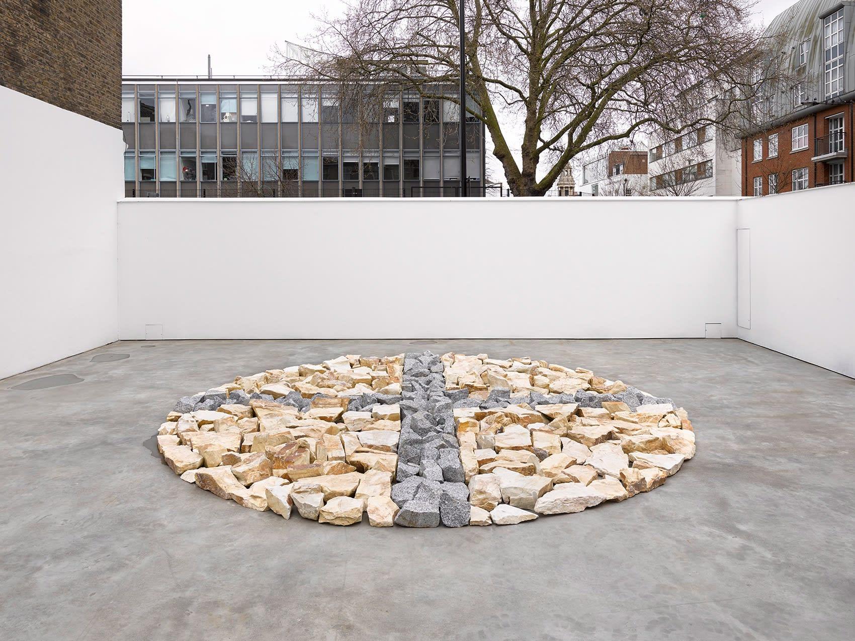 richard long, lisson gallery, london, sculpture, frieze