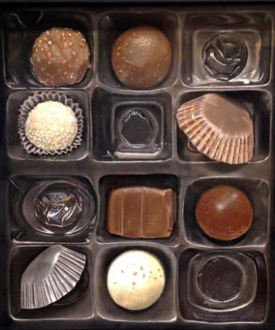 Life is like a box of chocolates - Nourine Hammad