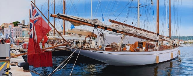Christian Marsh 'Panerai Classic Yachts Challenge, Cannes'