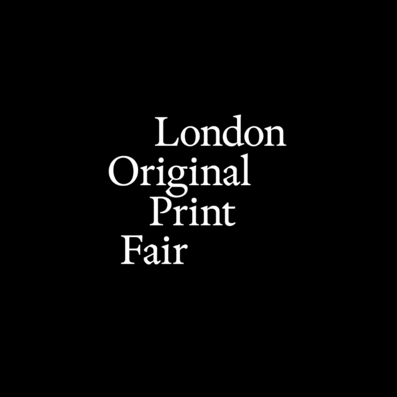 London Original Print Fair logo