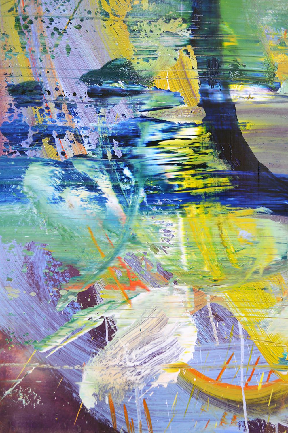 Abstract Painting. No.77. Close Up
