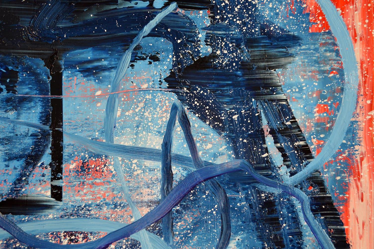 Abstract Painting. No.75. Close Up