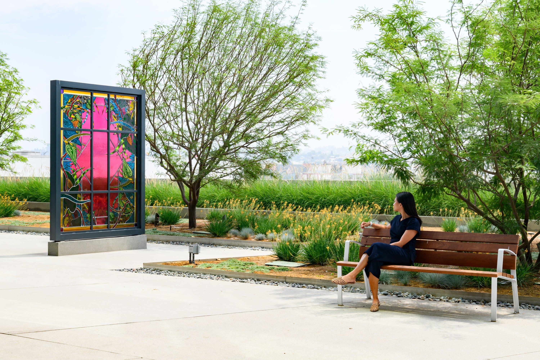 Amir H. Fallah, Portals, 2021, installation view,