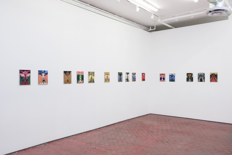 Bridget Mullen: Birthday, installation view, Shulamit Nazarian, Los Angeles, July 10 – August 28, 2021.