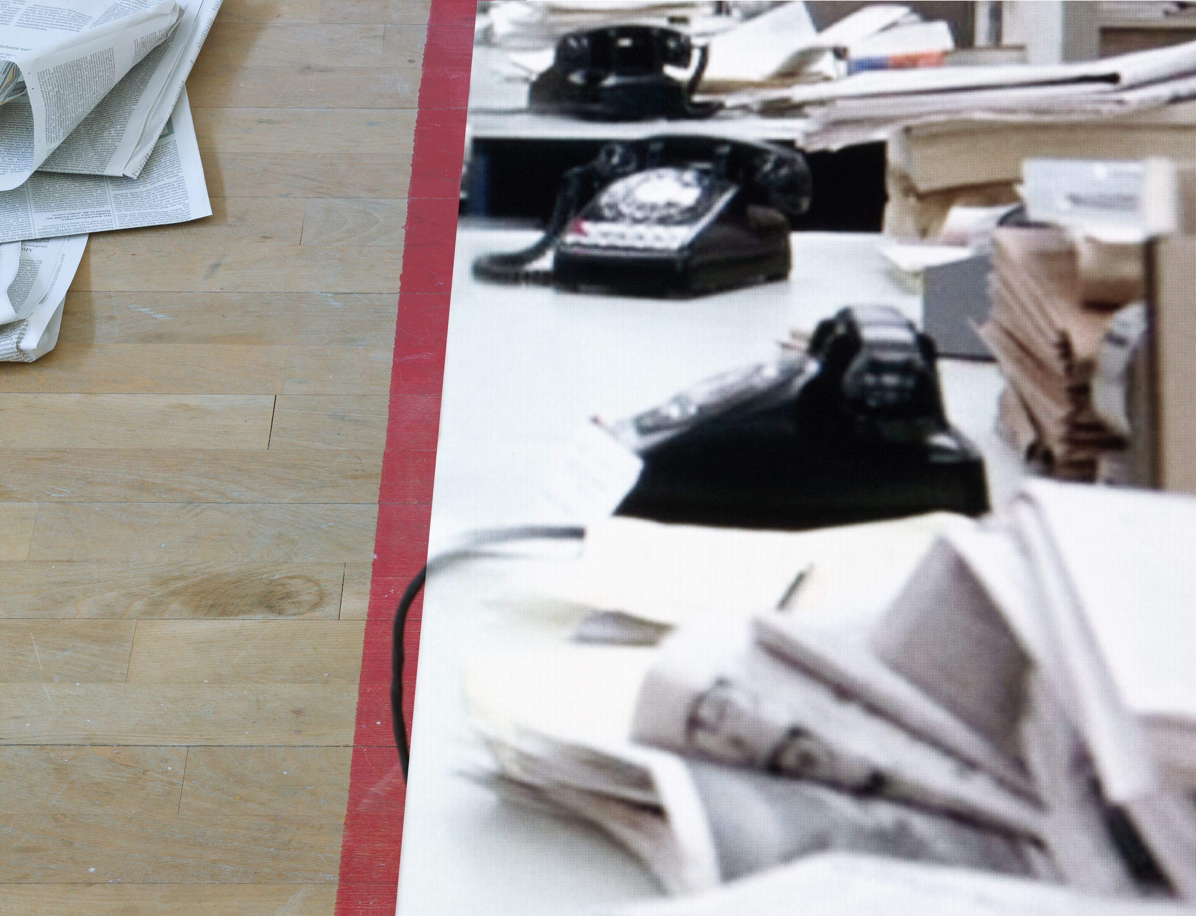 news, 2021, © Martina Sauter / courtesy The Ravestijn Gallery
