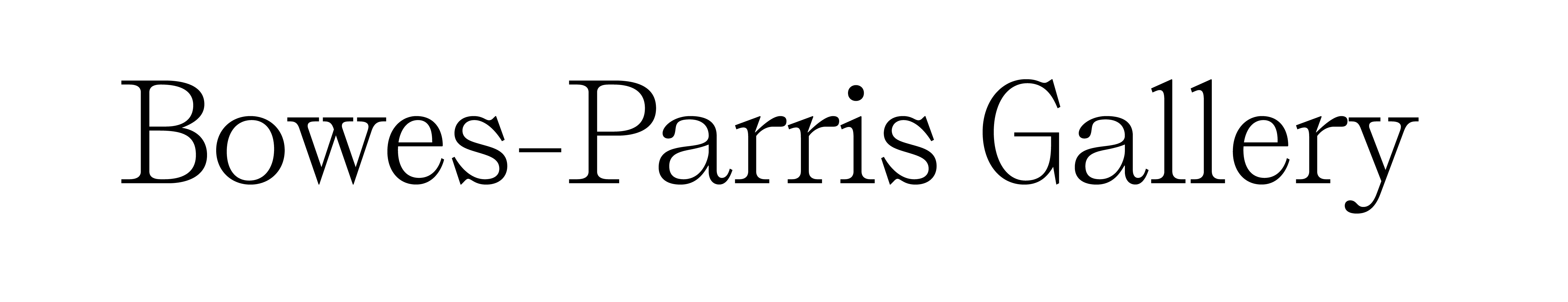 Bowes-Parris Gallery company logo